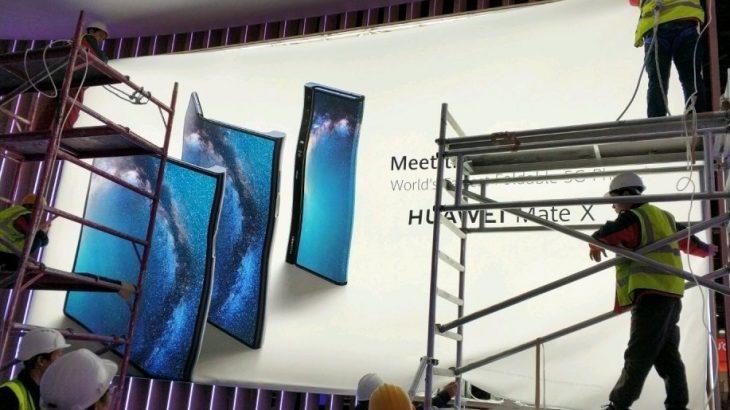 Mate X : Huawei dévoile son smartphone à écran pliable