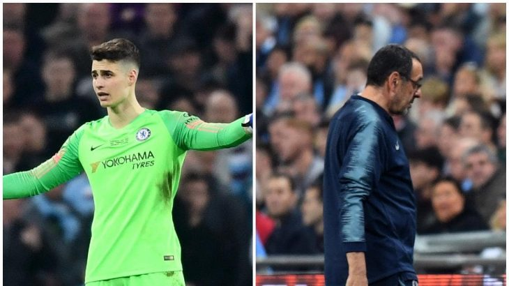 Chelsea : les retombées du geste de Kepa Arrizabalaga