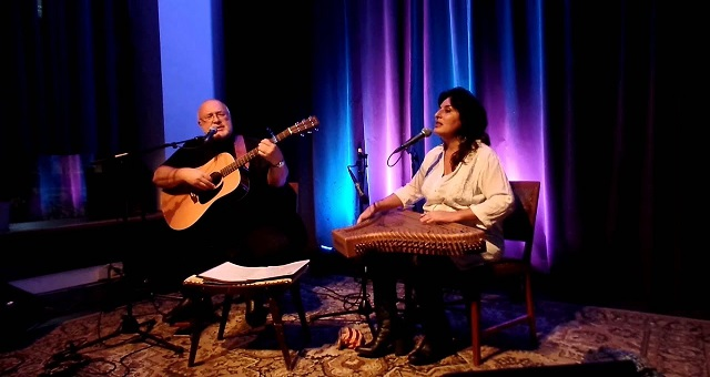 Nuits de ramadan: Begoña Olavide et Javier Bergia chantent la poésie spirituelle