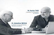 Karim Tazi et Abdelhai Bessa candidats pour la Présidence et la Vice-Présidence de l'AMITH
