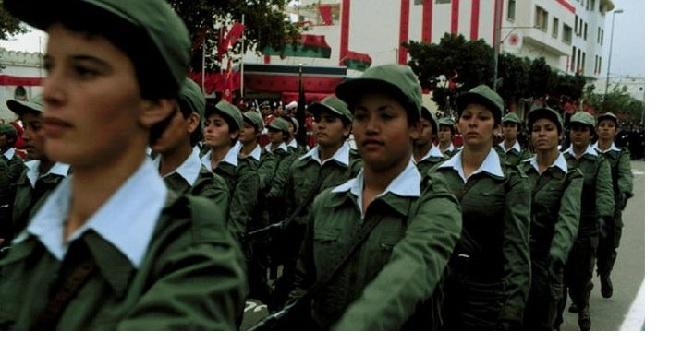 24.000 jeunes filles volontaires et 1100 retenues pour le service militaire