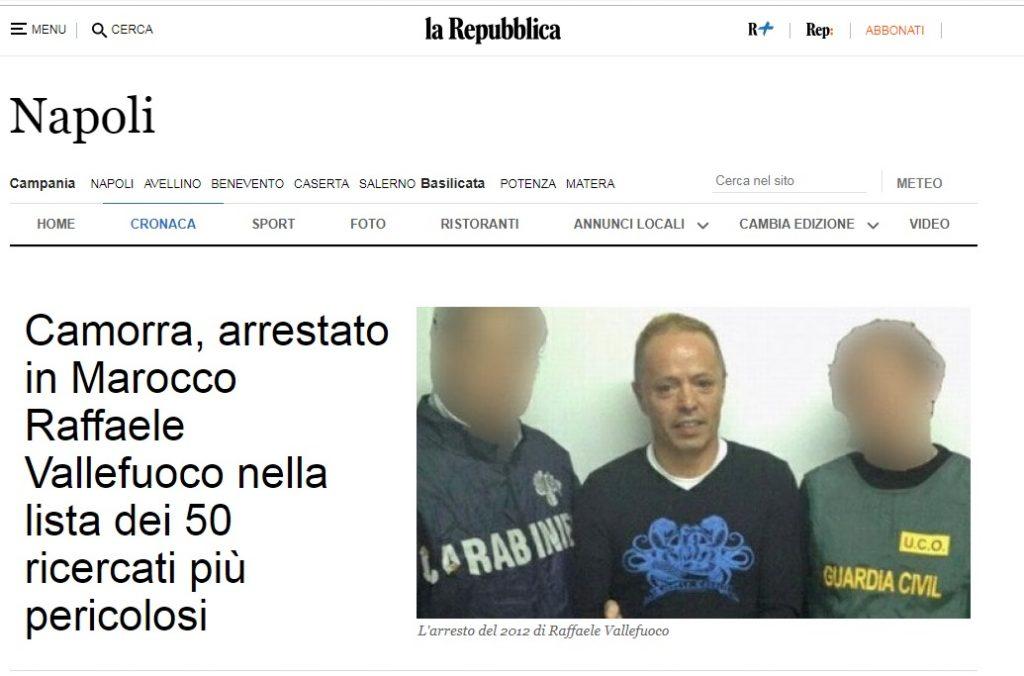 DGSN: Un grand dirigeant de «La Camorra» arrêté à Tanger