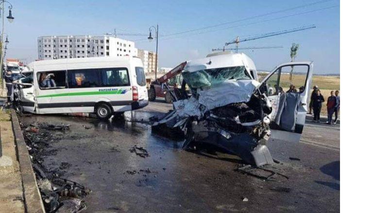 Quatre morts, bilan d'une collision entre deux autocars à Tanger