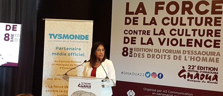 Le CNDH prône « la culture » pour faire face à « la violence »