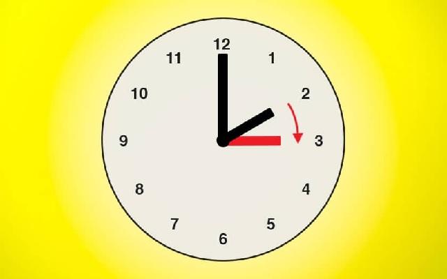 Retour à GMT+1 à partir de demain, dimanche 9 juin