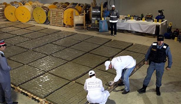 Saisie de près de 2 tonnes de Chira à Laâyoune