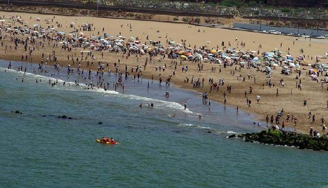Covid19: la fermeture des plages se poursuit dans la région de Casablanca-Settat