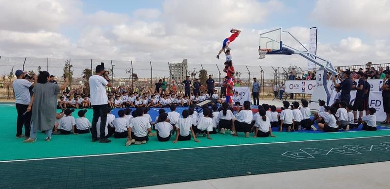 La NBA et l'AFD étendent le programme de la junior NBA au Maroc