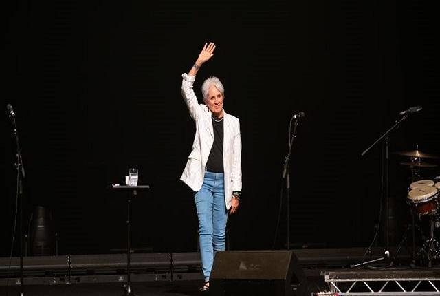 La chanteuse américaine, Joan Baez, fait ses adieux à la scène