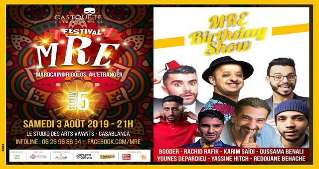 Et de 5 pour le Festival Marocains Rigolos à l'Étranger