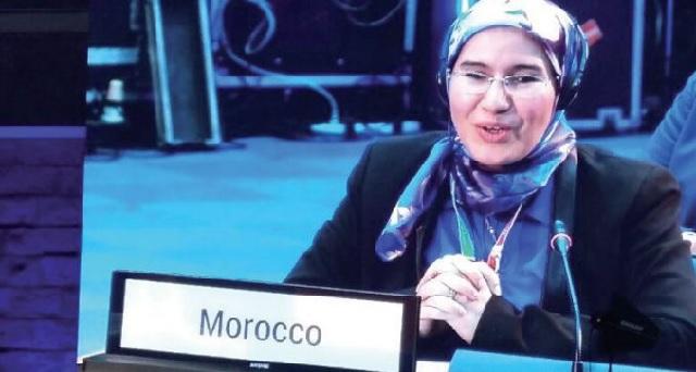 Nezha El Ouafi présente à l'ONU l'expérience marocaine en matière de développement durable