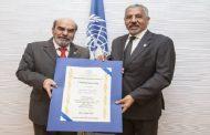 L'expert agronome marocain Abdelouahab Zaid reçoit la médaille d'or de la FAO
