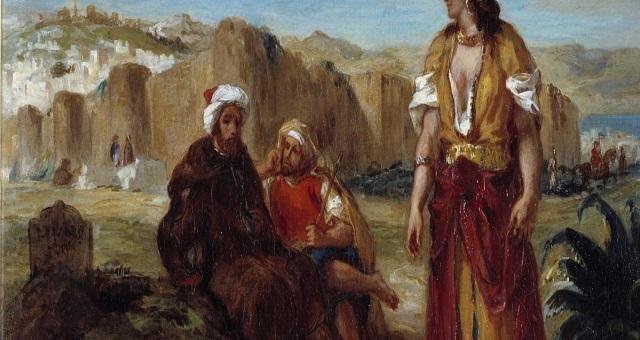 La Palette Marocaine D Eugene Delacroix Theme D Un Colloque International A Rabat Machahid24 Com