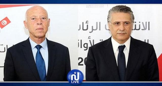Présidentielle en Tunisie: Kaies Saied et Nabil Karoui au deuxième tour