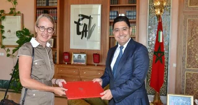 Nasser Bourita reçoit Hélène Le Gal, nouvelle Ambassadrice de France au Maroc