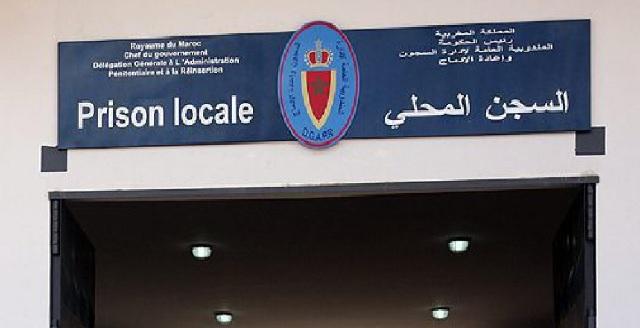L'administration de la prison locale Tanger 2 dément la grève de faim d'un détenu d'Al Hoceima