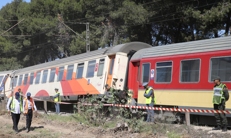 Suite au déraillement d'un train, l'ONCF poursuit les travaux pour rétablir le trafic
