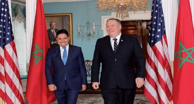 Le Secrétaire d'Etat américain M. Pompeo : « Le Maroc, partenaire stable et pourvoyeur crédible de sécurité au niveau régional »