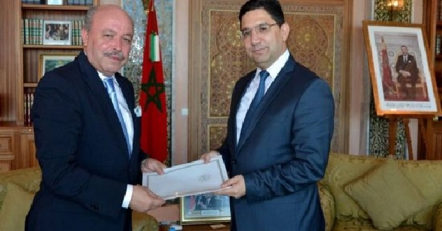 Nasser Bourita reçoit le nouvel ambassadeur de l'Algérie