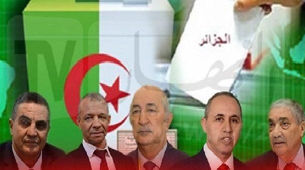 Algérie : Les candidats à la présidentielle signent une charte d'éthique