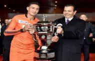 SAR le Prince Moulay Rachid préside la finale de la Coupe du Trône opposant le TAS de Casablanca et le Hassania d'Agadir