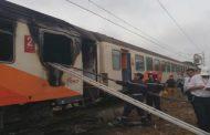 Déclenchement d'un feu dans la voiture d'un train Marrakech-Tanger