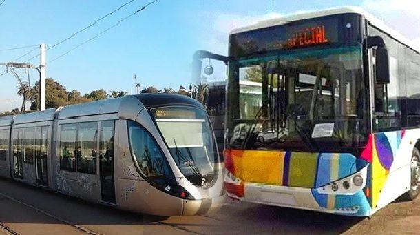 Lancement à Rabat d'une nouvelle offre de service intermodale TRAM'BUS