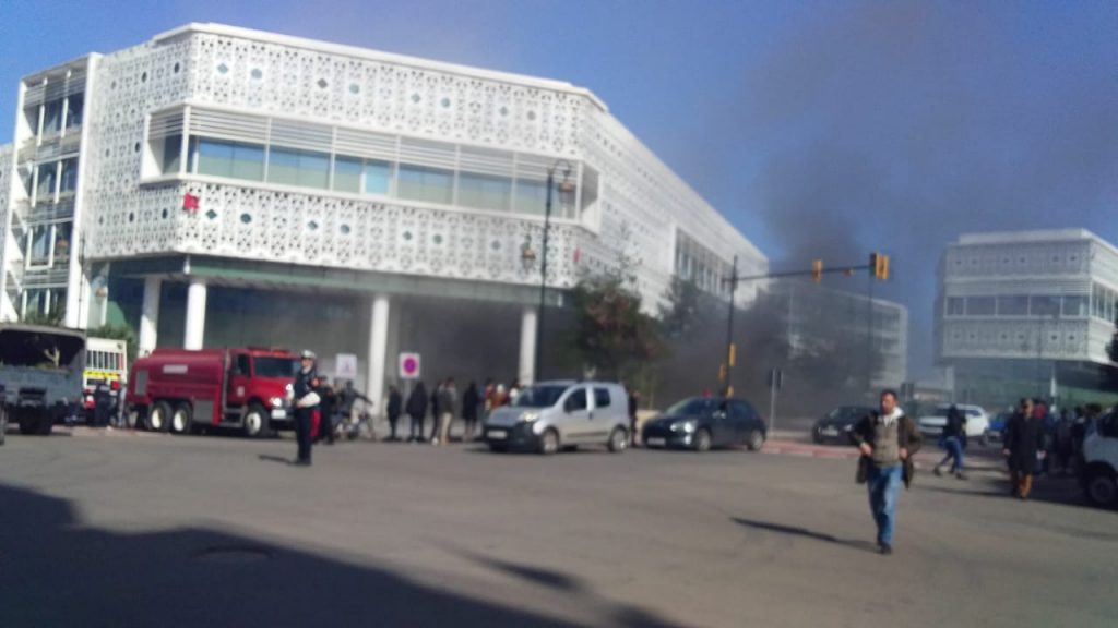 Incendie à «Arribat Center». Plus de peur que de mal!
