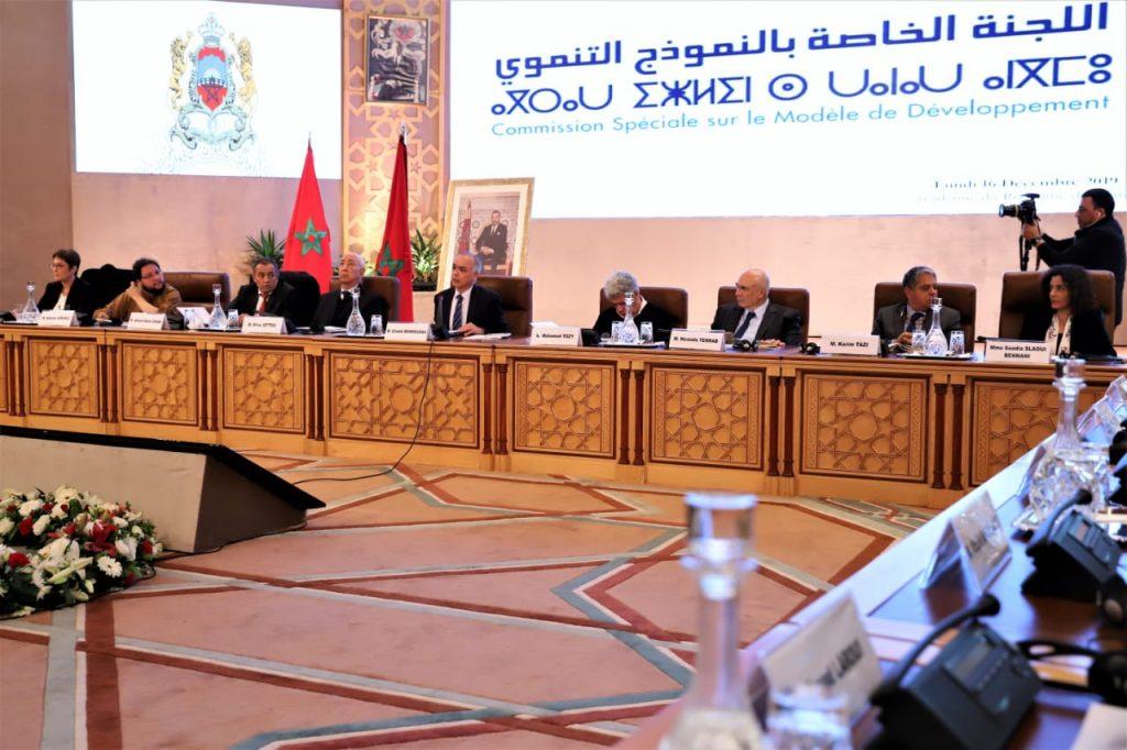 La Commission Spéciale sur le Modèle de Développement tient sa première réunion