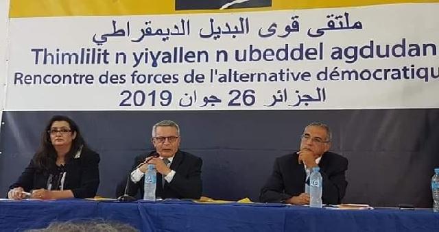Présidentielle en Algérie: Une coalition d'opposition appelle les Algériens à résister contre la dictature