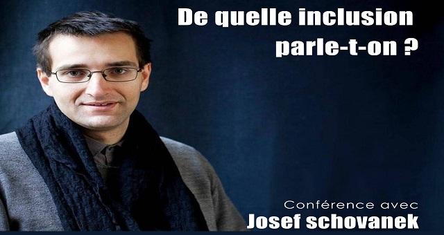 Rencontre avec Josef Schovanek autour de l'inclusion des personnes handicapées