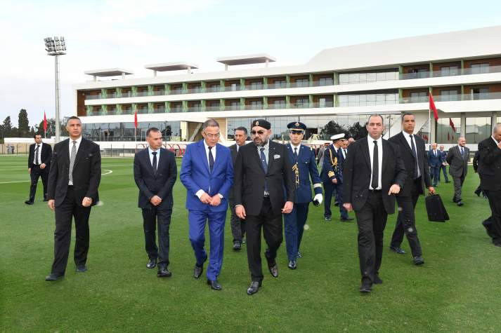 Maamoura: Le Souverain inaugure le «Complexe Mohammed VI de Football»