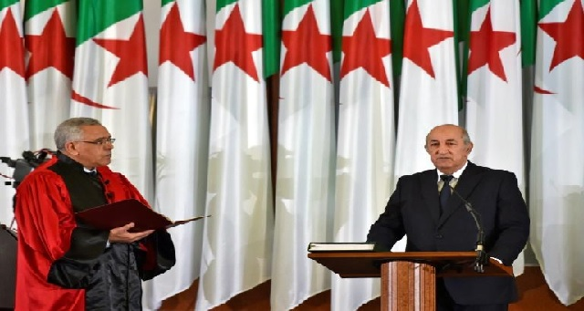 Algérie : le nouveau président Tebboune prête serment