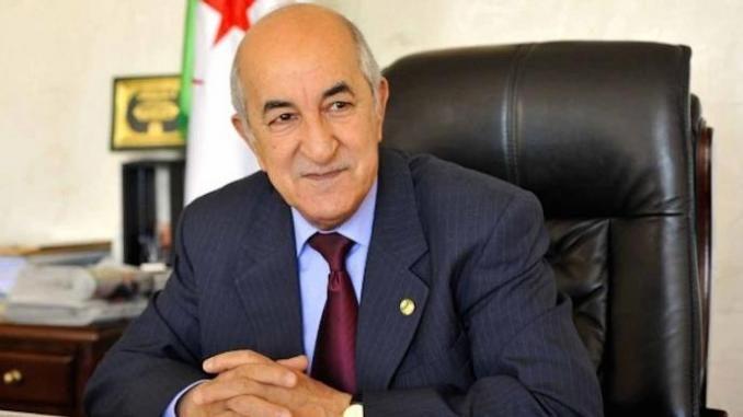 Coronavirus : Le président algérien en