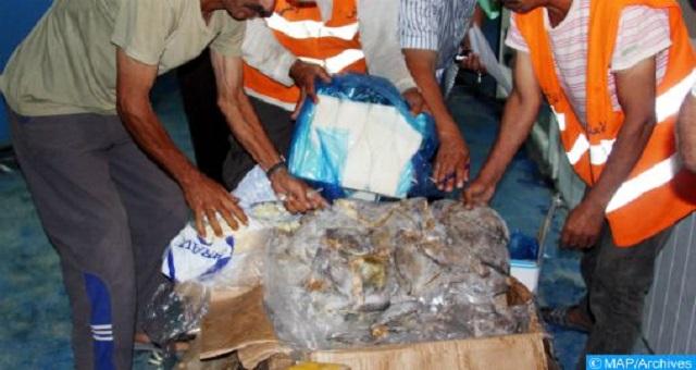 Oujda: Saisie de plusieurs tonnes de produits alimentaires mal stockés
