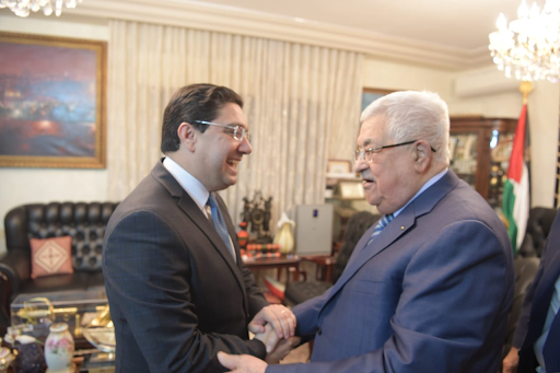 Soutien du Maroc à la cause palestinienne: Nasser Bourita reçu par le Président Mahmoud Abbas