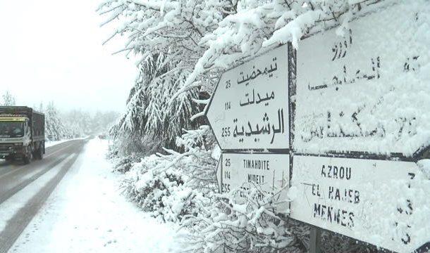 Alerte météo: Fortes averses et chutes de neige attendues du dimanche au mardi