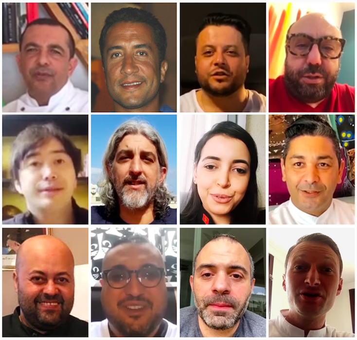 Solidarité: 12 chefs cuisiniers Casablanca préparent les repas des sans abris