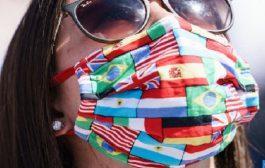 """Exposition virtuelle: """"Impressions sur masques"""", quand le masque devient œuvre d'art"""