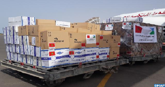 Covid-19: Suivant les instructions royales, acheminement réussi de l'aide médicale marocaine destinée à Djibouti