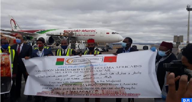 Covid-19 : Suivant les instructions royales, acheminement réussi de l'aide médicale marocaine destinée à Madagascar
