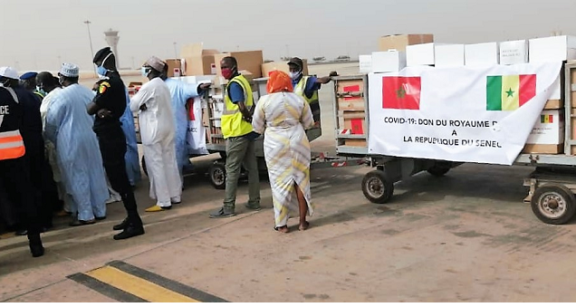Solidarité sud-sudpour la lutte contre le Covid-19: L'Organisation mondiale de la santé (OMS) se félicite de l'initiative royale en faveur de 15 pays africains