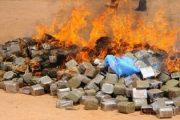 Agadir: Incinération de plusieurs kilos de produits illicites et de contrebande