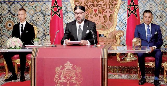 Sa Majesté le Roi adresse un Discours à la Nation à l'occasion de la Fête du Trône (Texte intégral)