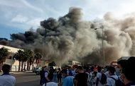 Casablanca: Une unité de confiserie ravagée par le feu, pas de dégâts humains