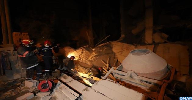 Marrakech: Un mort dans l'effondrement partiel d'un chantier de construction