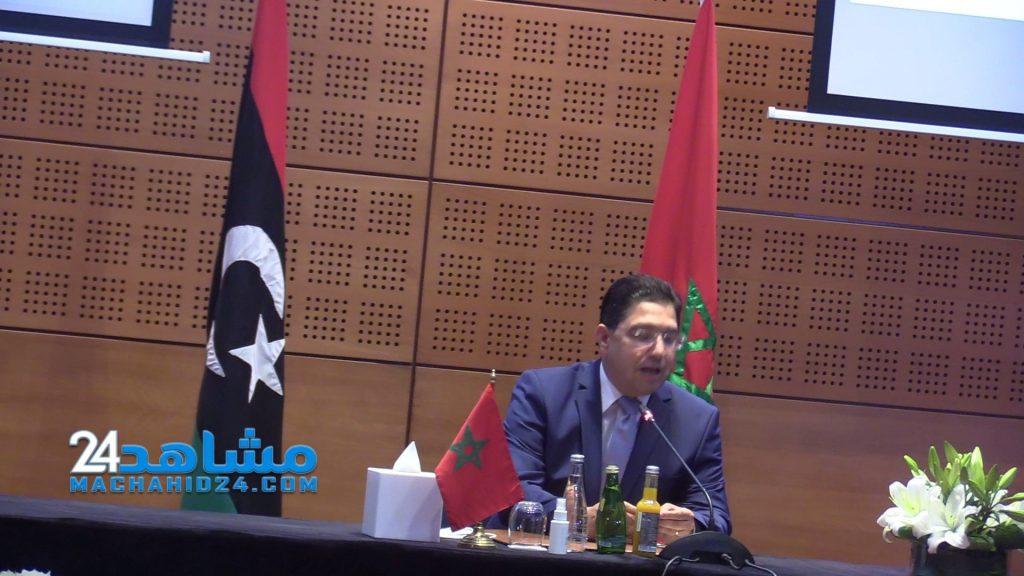 M. Bourita examine avec son homologue égyptien les efforts communs pour l'aboutissement d'un règlement politique en Libye