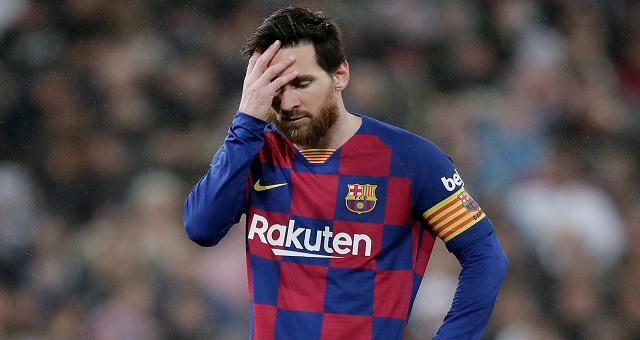 Football: Lionel Messi reste à Barcelone