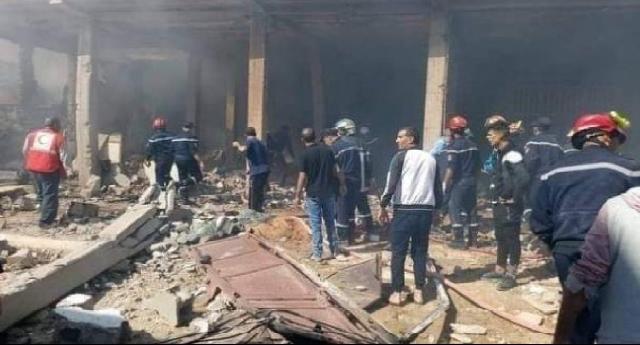 Explosion de gaz en Algérie : Le bilan s'élève à six morts