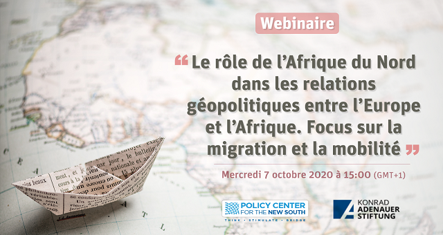 Webinaire: Débat autour des relations géopolitiques entre l'Europe et l'Afrique